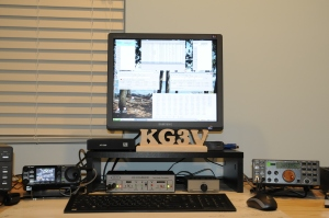 KG3V SO2R Station for 2011 VA QSO Party